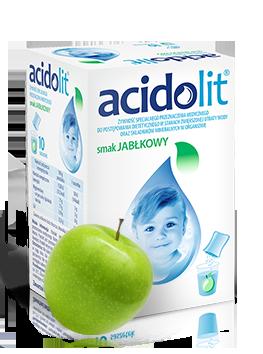 Acidolit<sup>®</sup><br>o smaku jabłkowym - 10 saszetek