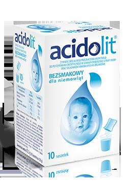 Acidolit elektrolity na biegunkę i odwodnienie