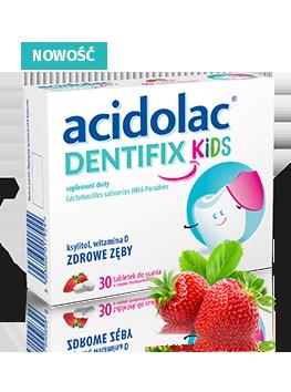 Acidolac<sup>®</sup> Dentifix Kids - 30 tabletek do ssania