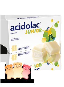 Acidolac Junior dobre bakterie dla dzieci