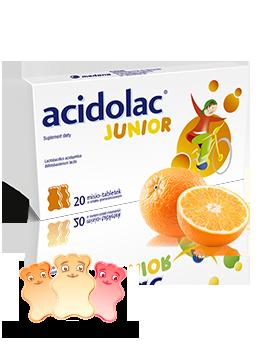 Acidolac Junior suplementy na odporność