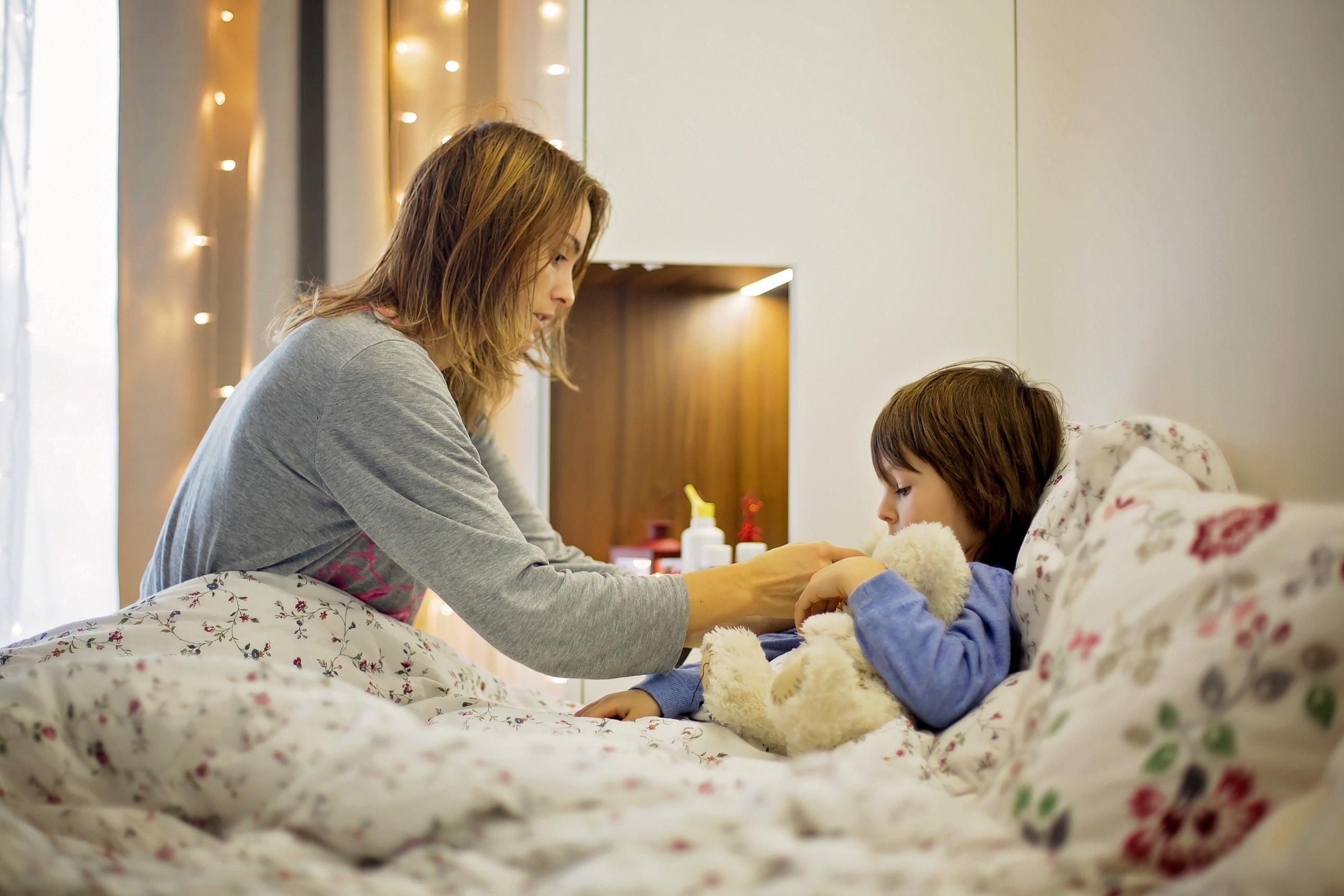 Kuracja dziecka podczas przyjmowania antybiotyku