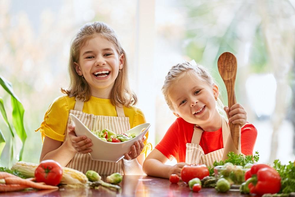 """Szkoła gotowania Acidolac """"Do smaku gotowi... start"""" odc. 4<br>  Z warzywami za pan brat"""